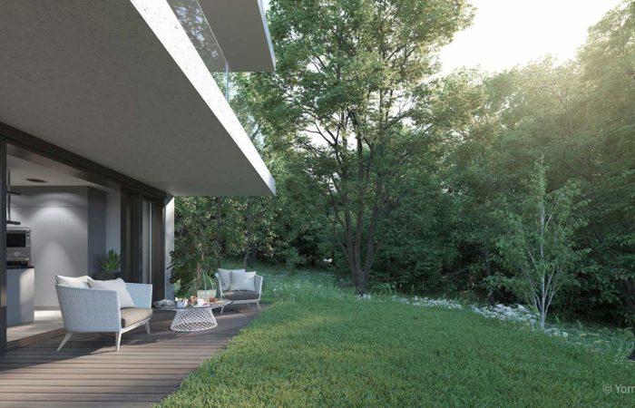 Terrasse - rez-de-jardin