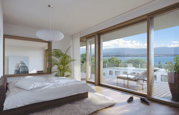 Chambre - attique - duplex
